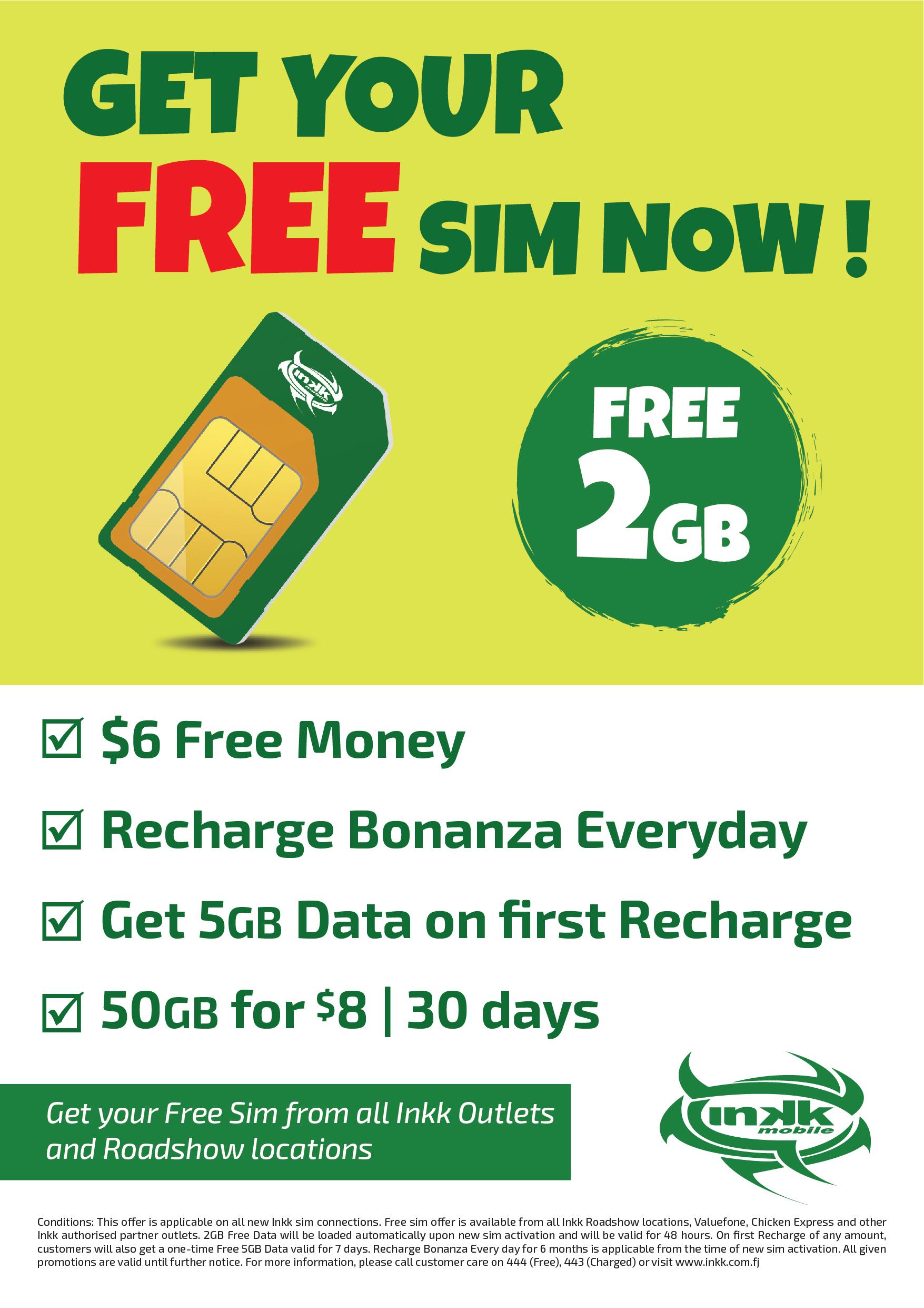 Free Sim Offer